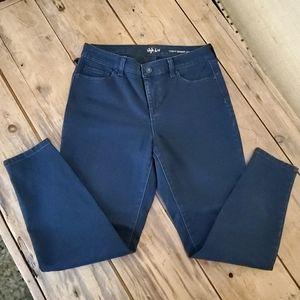Style & Co. Curvy Skinny leg Blue Jeans Size 6S